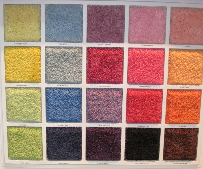 soft bright show carpet