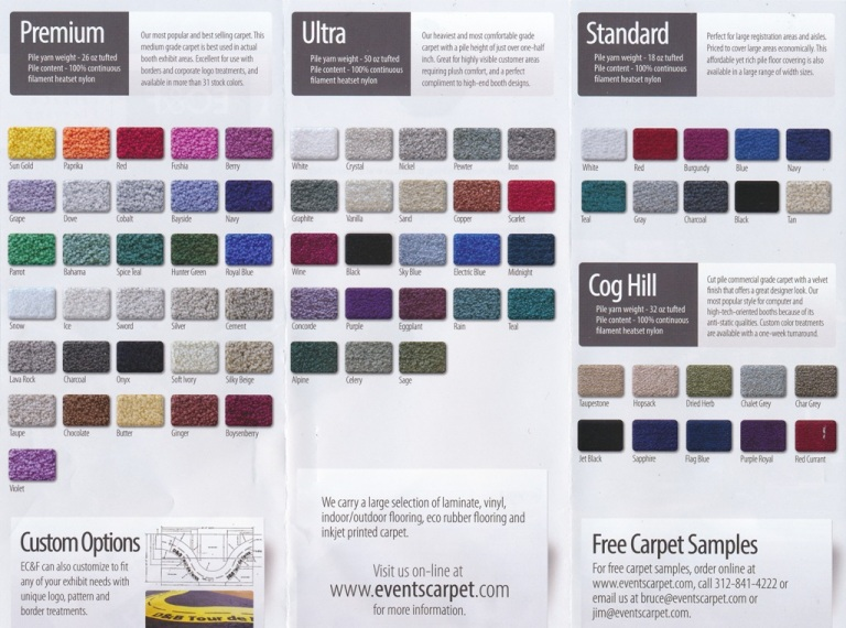 Carpet Styles and Colors