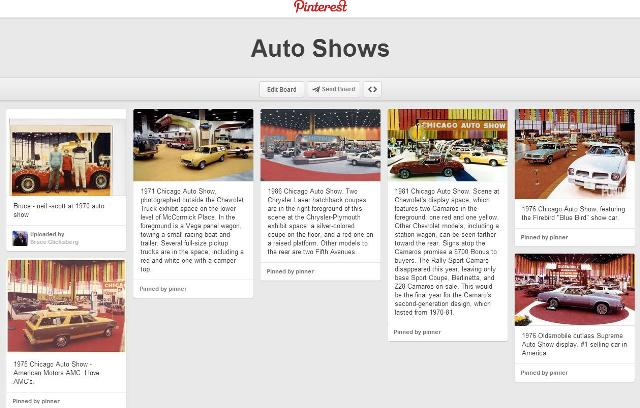 Take a look at some old auto show photos
