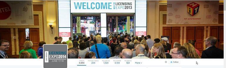 licencing show tweet