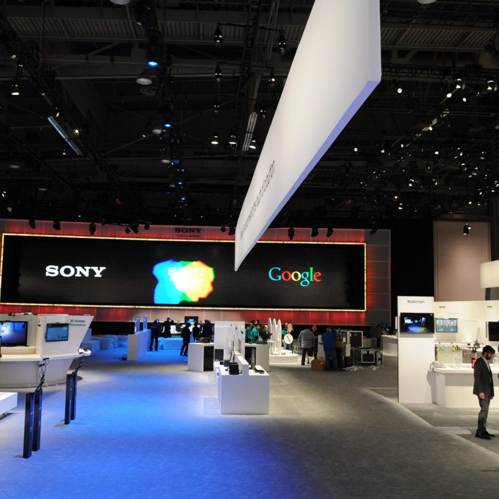 sony carpet at Ces