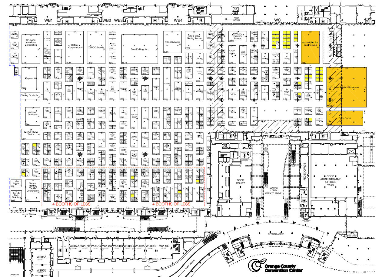 Trade Show Floor Plan: Events Carpet And Flooring