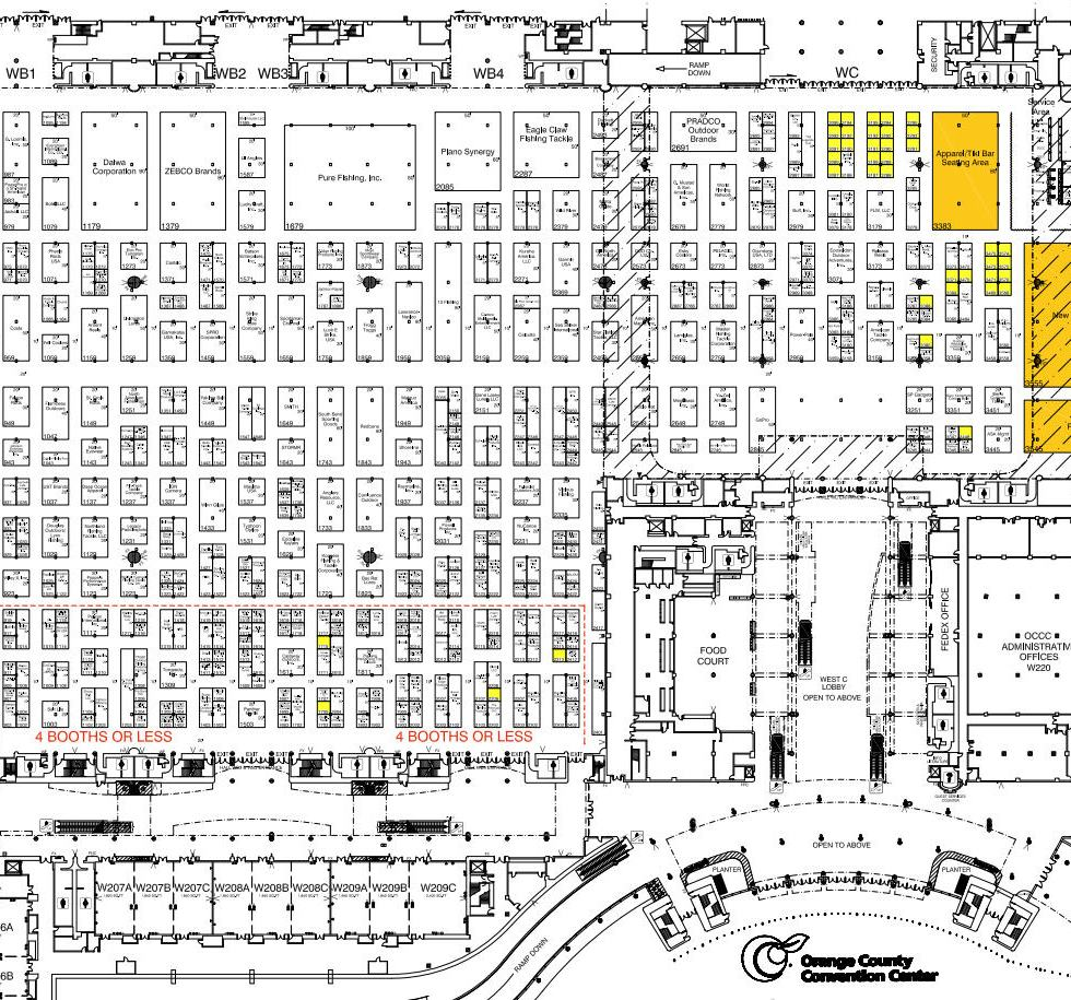 icast floor plan