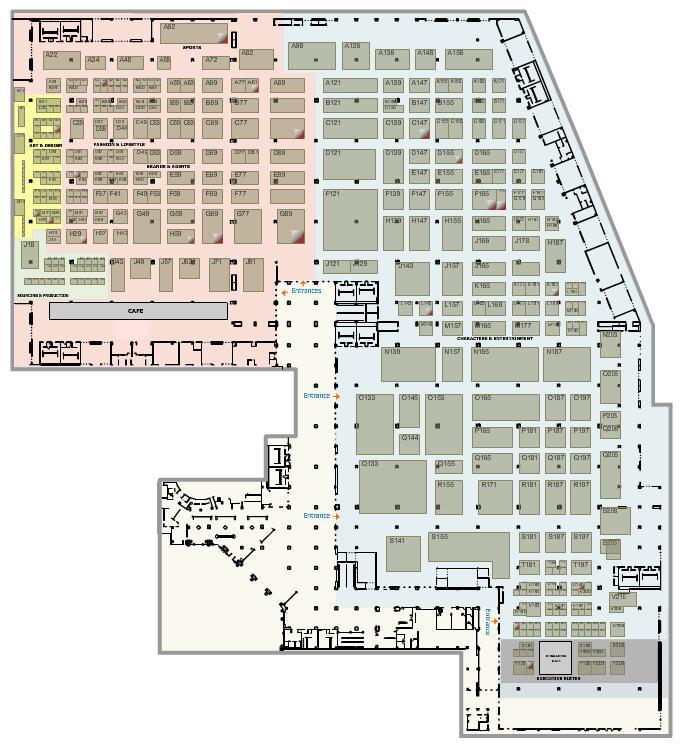 Licensing 2015 floor plan