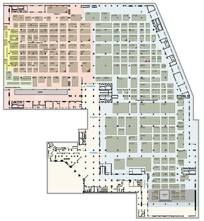 Licensing 2015 floor plan