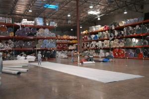 Tradeshow carpet warehouse in Las Vegas