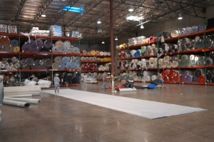 Tradeshow carpet warehouse in Las Vegas