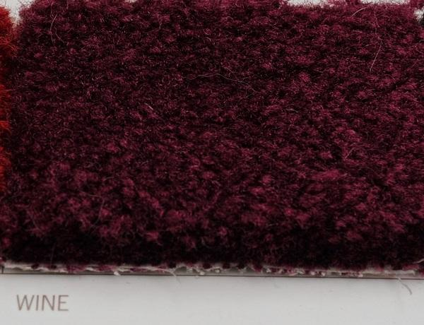 Wine ultra carpet for exhibit rental